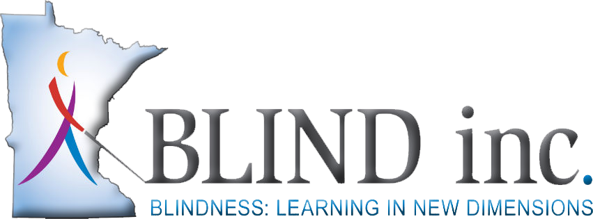 BLIND, Inc. Logo